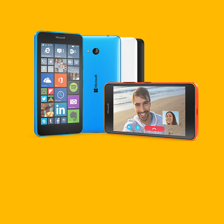 Kun ostat Lumia 640 -puhelimen, saat käyttöösi Office 365 Personalin.