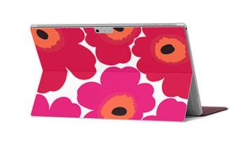 Unikko-niminen Marimekko-suojakalvo Microsoft Surface Prolle