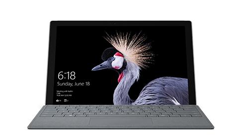 Surface Pro -kannettava ja Type Cover.