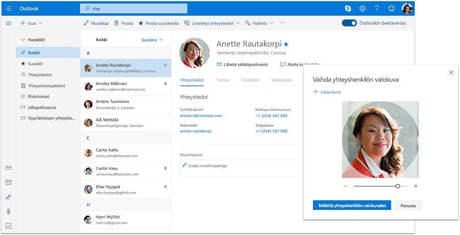 Microsoft Outlook Sähköposti