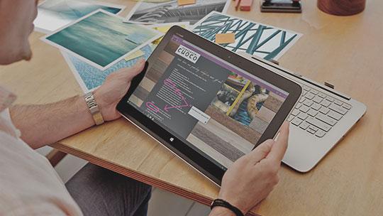 Découvrez Microsoft Edge. Une nouvelle dimension du Web.