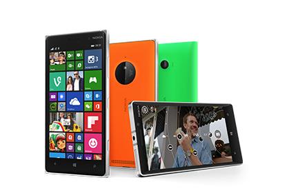 Téléphones Lumia