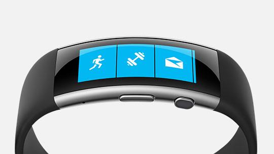 Le bracelet Microsoft Band, acheter maintenant