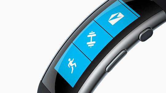 Le bracelet MicrosoftBand, en savoir plus