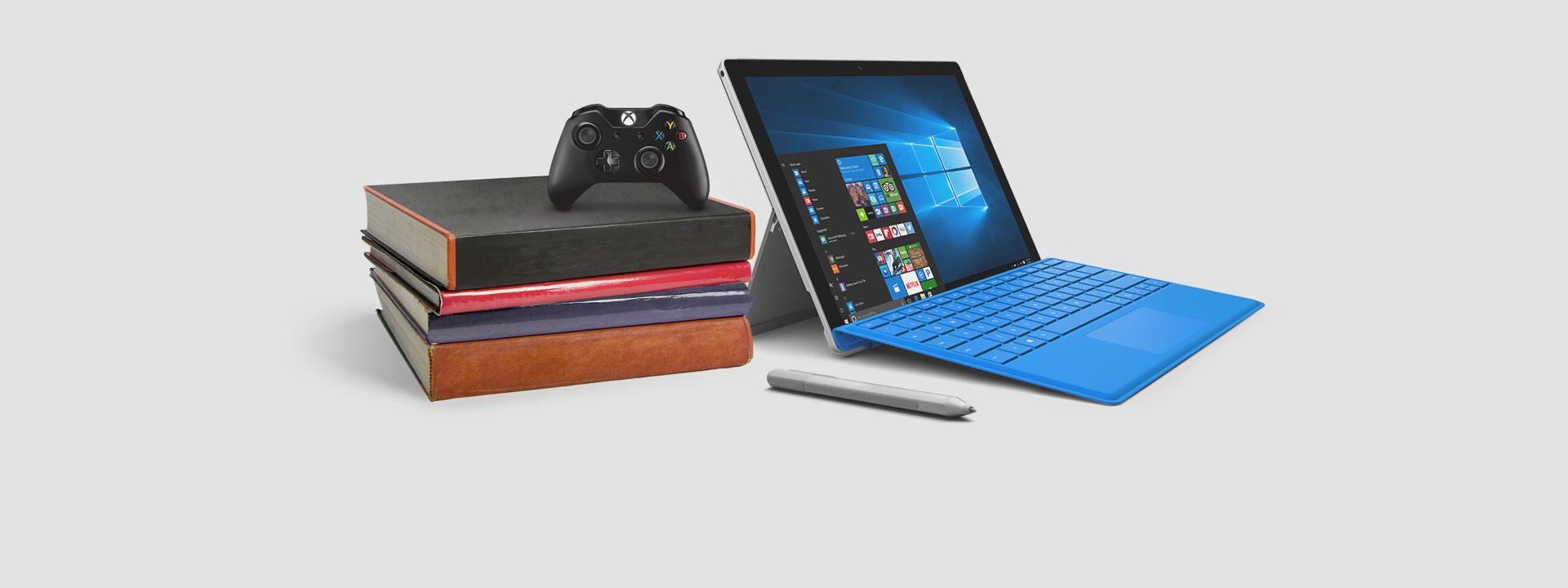 SurfacePro4 avec une manette Xbox, en savoir plus sur notre offre d'une durée limitée