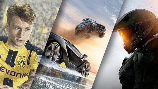 Xbox, magasiner des jeux