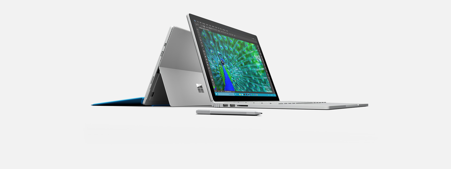Pour en savoir plus sur Surface Book et Surface Pro 4.
