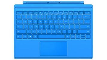 Clavier Type Cover pour Surface Pro 4 (bleu clair)