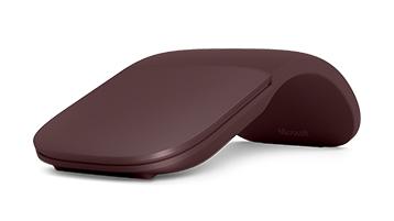 Surface arc mouse Burgundy