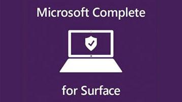 Protection contre les accidents Microsoft Complete pour Surface Book