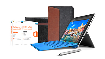 Pack Surface Pro 4 Essentials