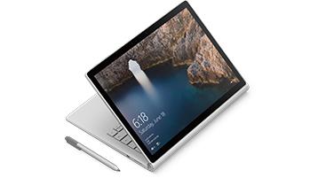 Surface Book en mode dessin