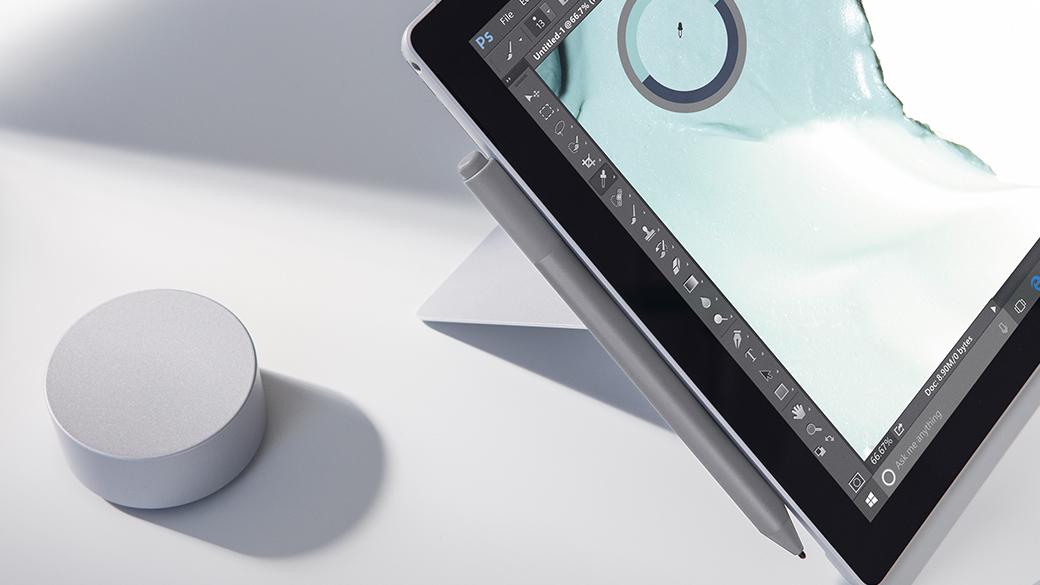 Image de Surface Pro avec Dial