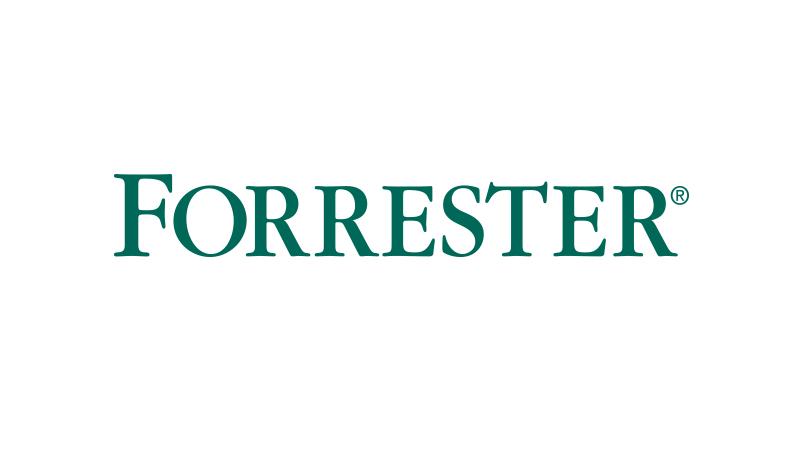 Surface Book affichant les statistiques de Forrester à l'écran