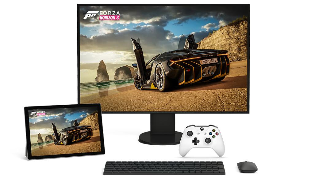 Forza Horizon3 sur Windows10