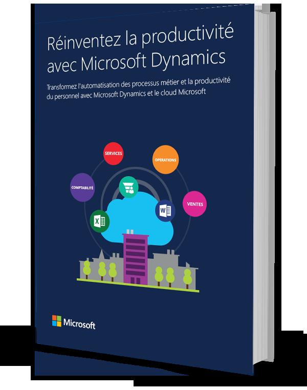 Réinventez la productivité avec Microsoft Dynamics ebook