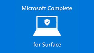 Protection contre les accidents Microsoft Complete pour Surface