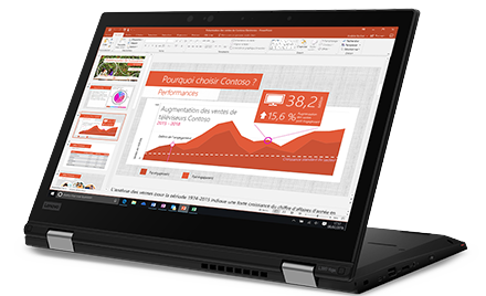 Image of the Lenovo L390 Yoga.