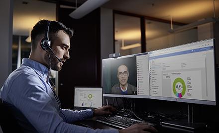 Image for: Utiliser les solutions d'analyses du bureau et d'apprentissage automatique pour rester informé