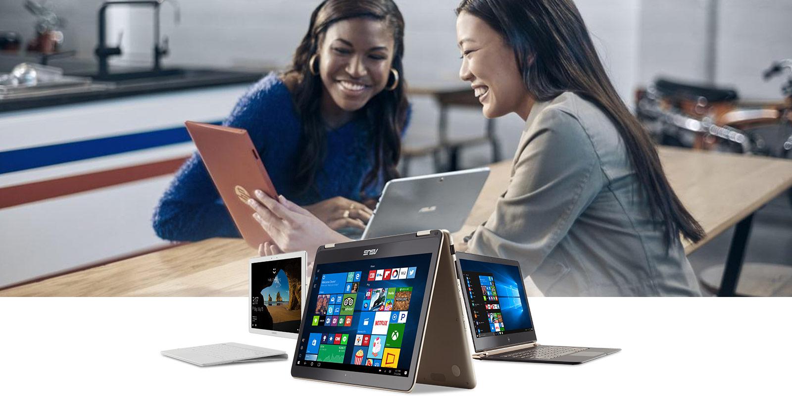מחשבים וטאבלטים עם Windows 10