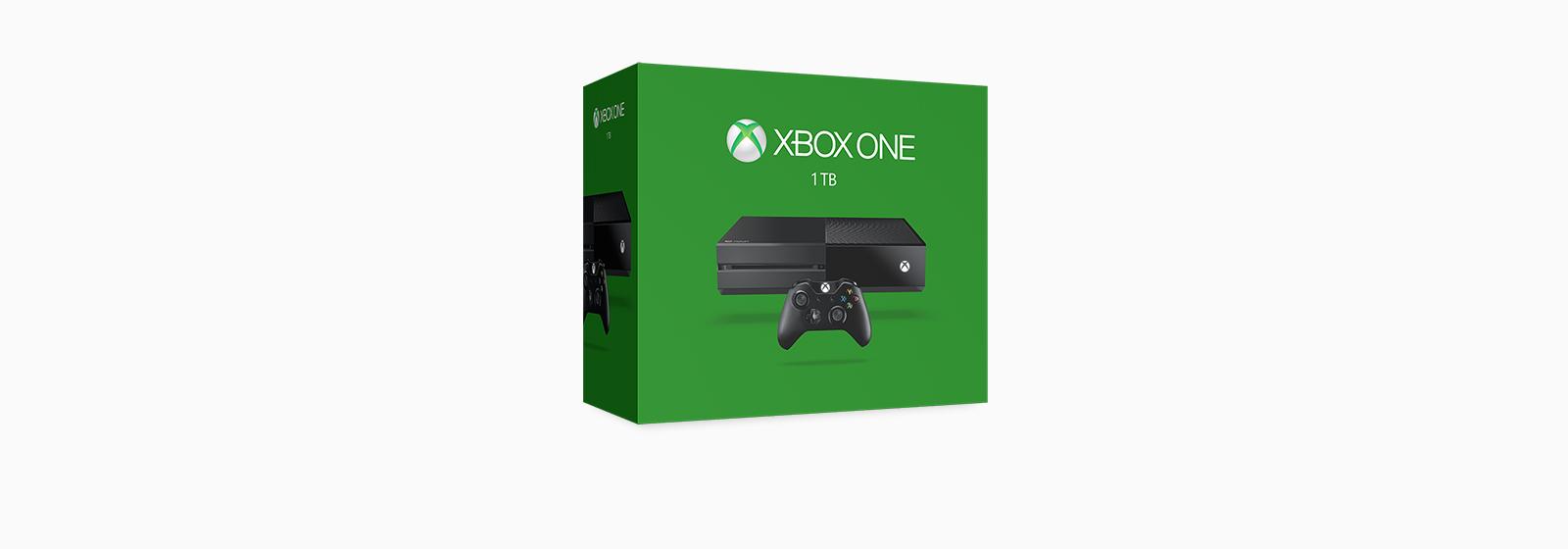 קבל מידע על קונסולת Xbox החדשה עם 1 TB.