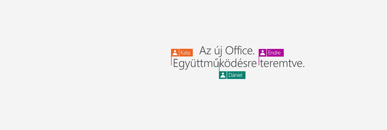 Vásárolja meg az Office 365-öt, és szerezze be a 2016-os új alkalmazásokat!