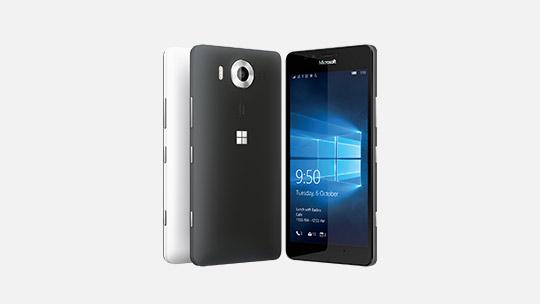 Pelajari tentang Lumia 950.