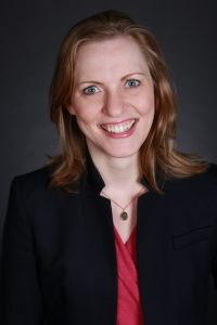 Corporate portrait of Sarah Lundy.