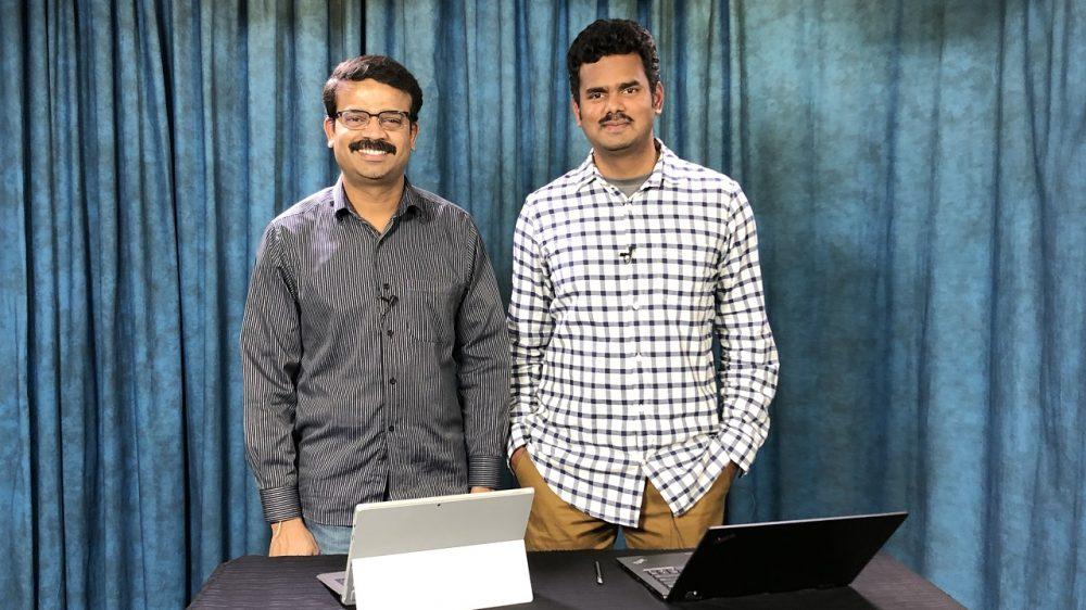 Shivaji Nagarajan and Sethu Gannesan