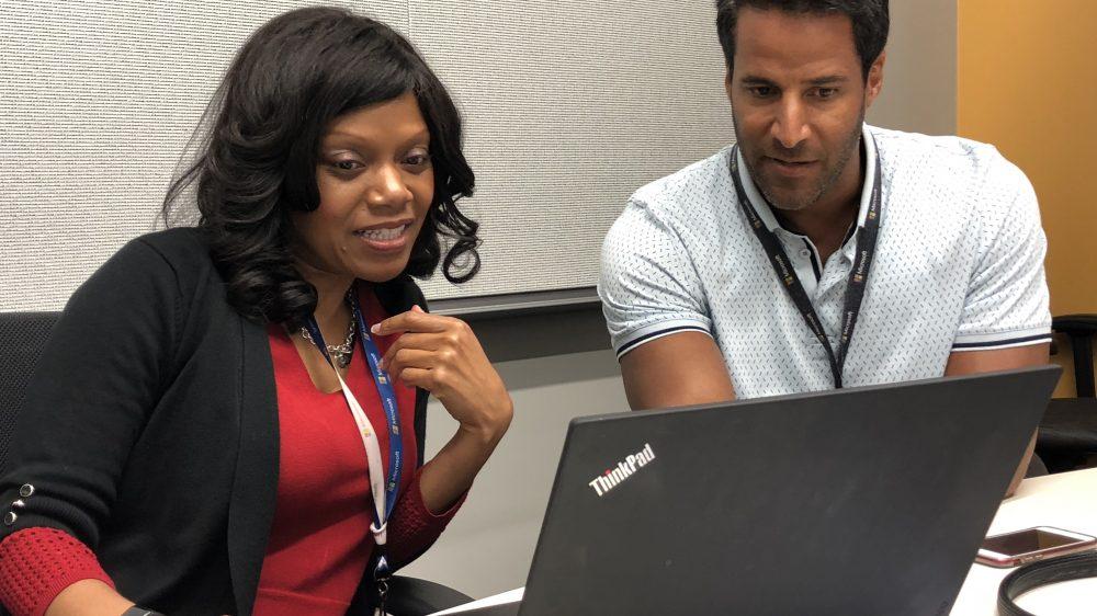 Katina Reece – Senior Program Manager and Mike Taylor – General Manager Microsoft SAP instance