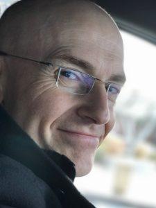 Bert Van Hoof close up portrait