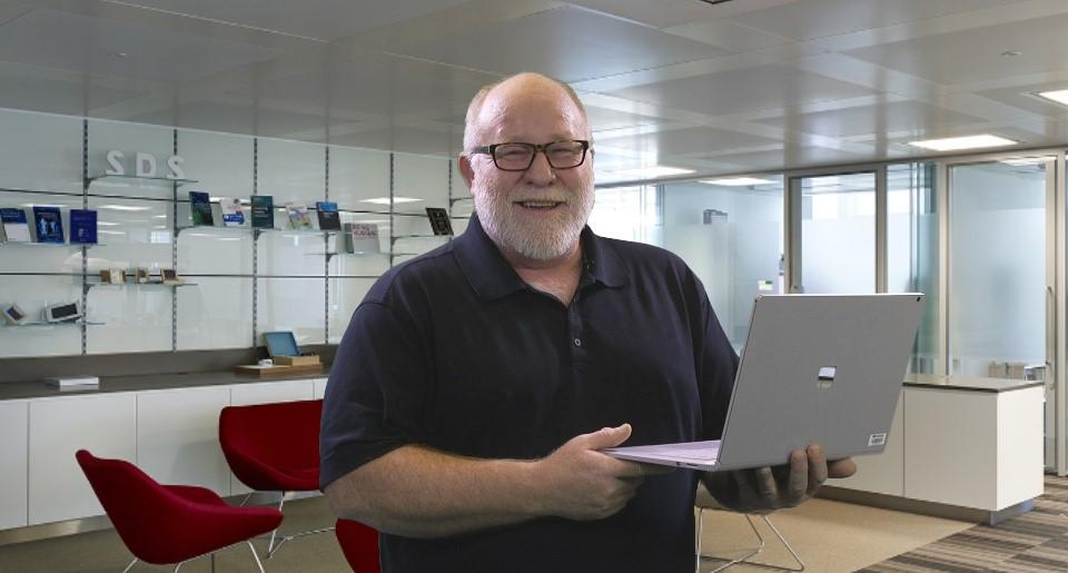Robert Van Winkle, a principal program manager in Microsoft IT