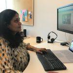 Senior program manager in Microsoft IT, Rekha Nair,