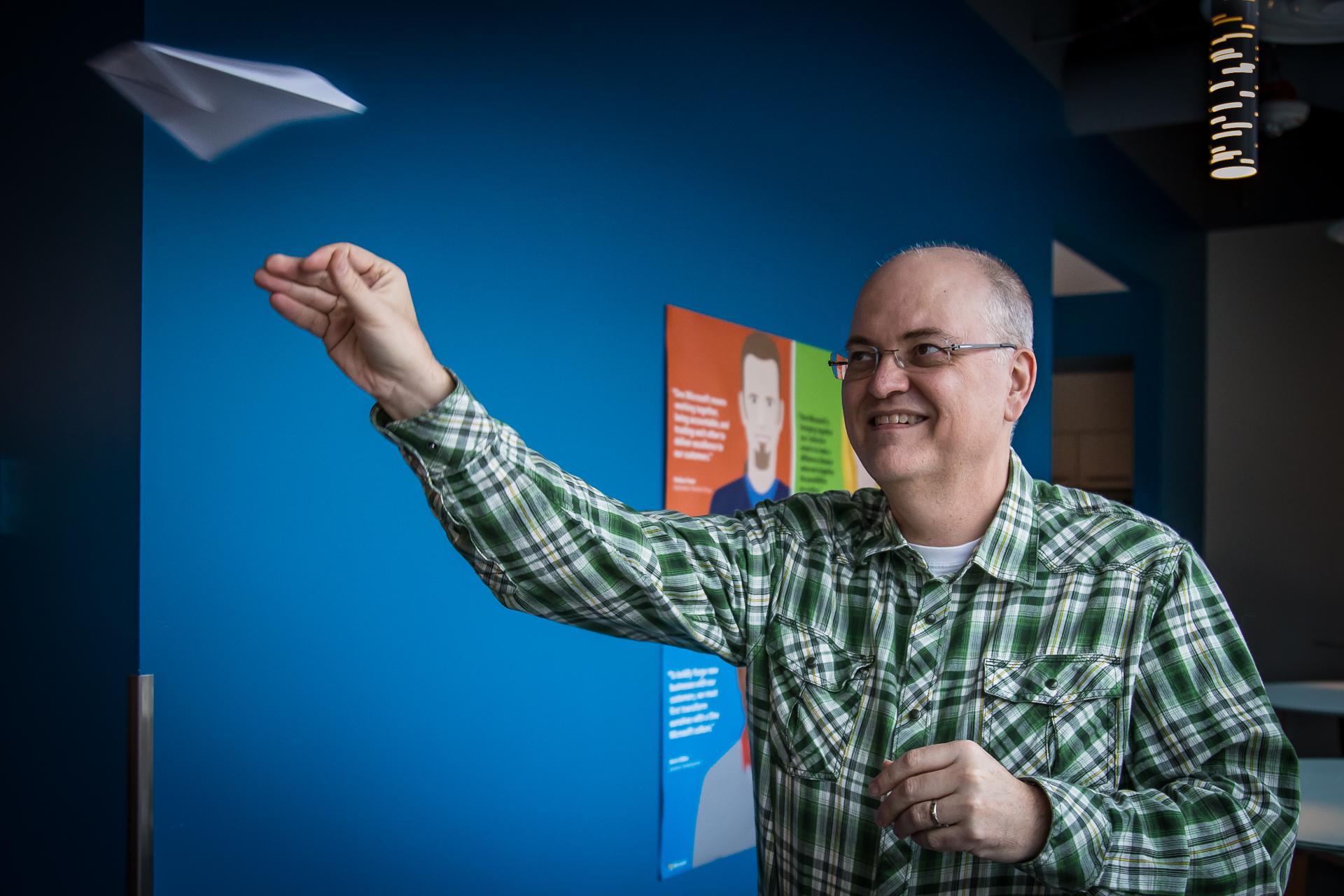 Pete Apple, cloud servies engineer