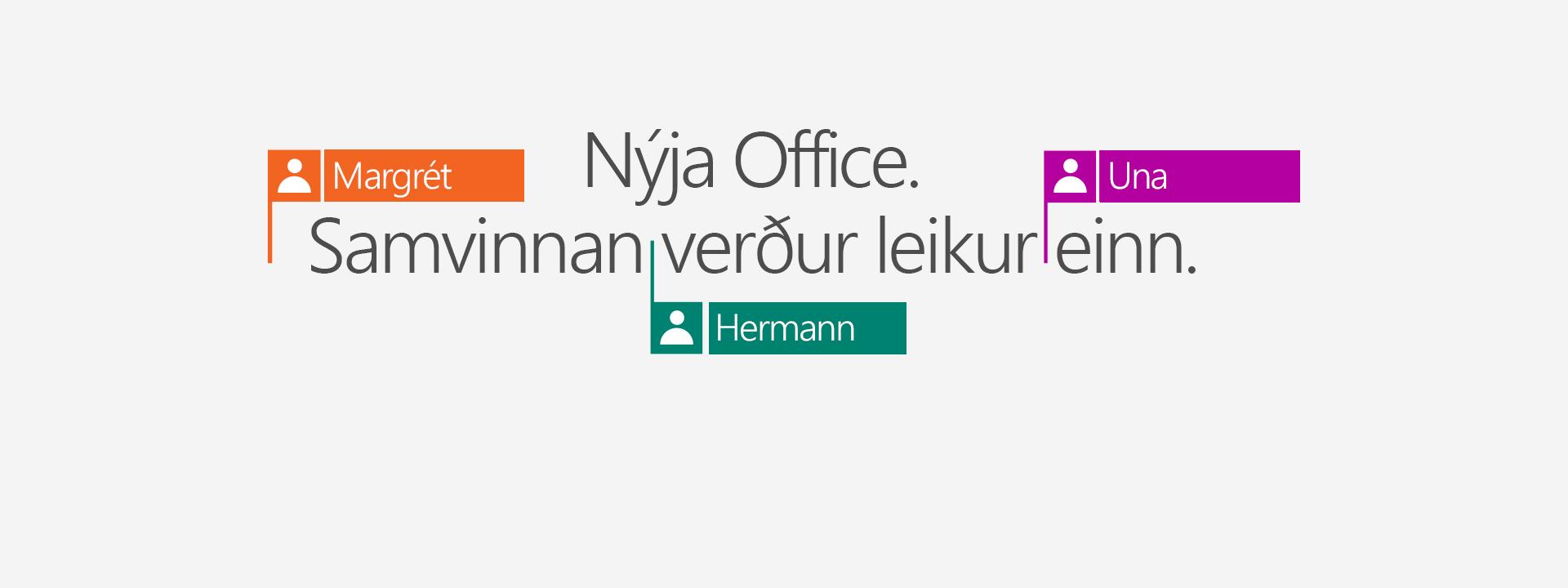 Kauptu Office 365 til að fá nýju 2016-forritin.