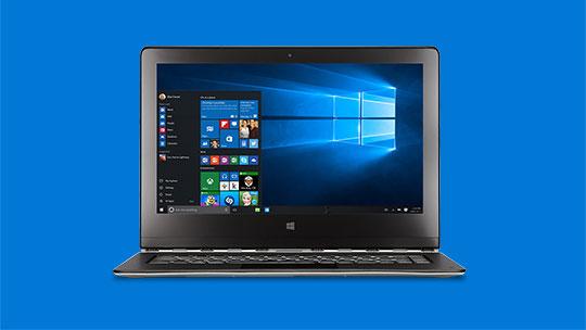Tölva, uppfærðu í Windows 10