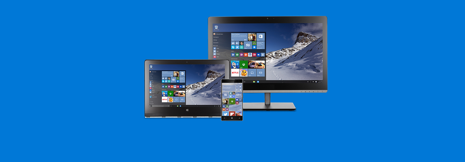 Windows 10 er á leiðinni. Frekari upplýsingar.