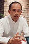 写真:日清食品ホールディングス株式会社 執行役員 CIO グループ情報責任者 喜多羅 滋夫 氏