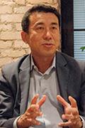 写真:日清食品ホールディングス株式会社 情報企画部 次長 中野 啓太 氏