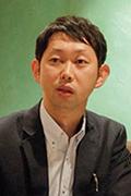 写真:日清食品ホールディングス株式会社 経営企画部 係長 萩原 裕朗 氏