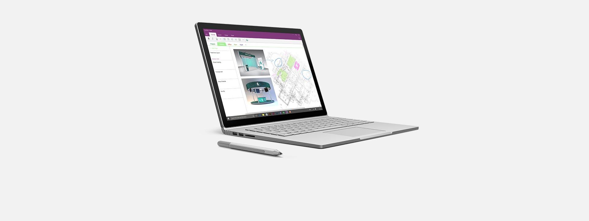 Surface Book、詳しくはこちら