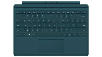 Surface Pro 4 タイプ カバー (ティール)