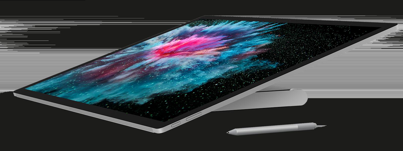 スタジオ モードの Surface Studio 2
