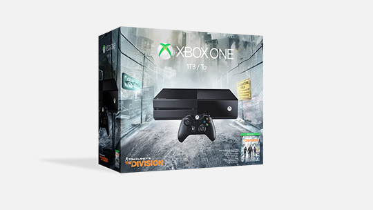 Xbox One 1TB (ディビジョン同梱版)、今すぐ購入