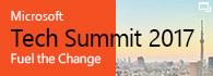 「Microsoft Tech Summit 2017」2017 年 11 月 8 日 (水) – 9 日 (木) (新規ウィンドウで開きます)