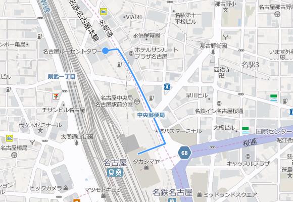 中部支店マップ