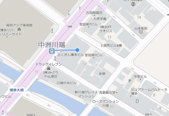 九州支店マップ