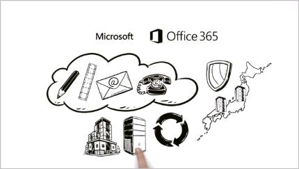 3 分でわかる Office 365 の魅力 を観る。