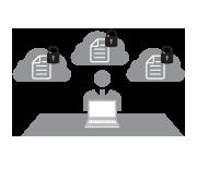 企業向けの高度なセキュリティを装備。情報資産を守ります!