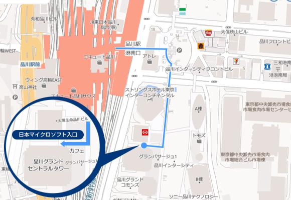 品川本社マップ